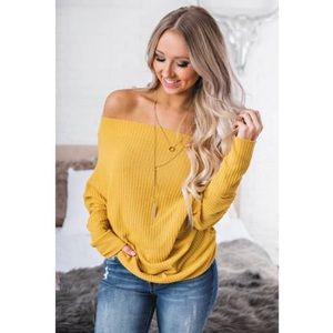 NanaMacs True romance off the shoulder top